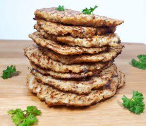 placki z kalafiora bez mąki