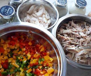 składniki potrawka z mięsa z rosołu