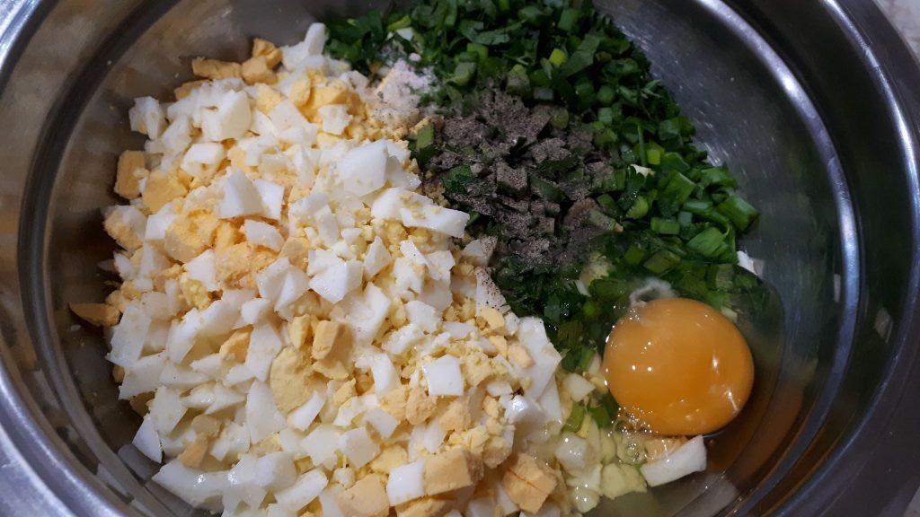 kotlety jajeczne - składniki