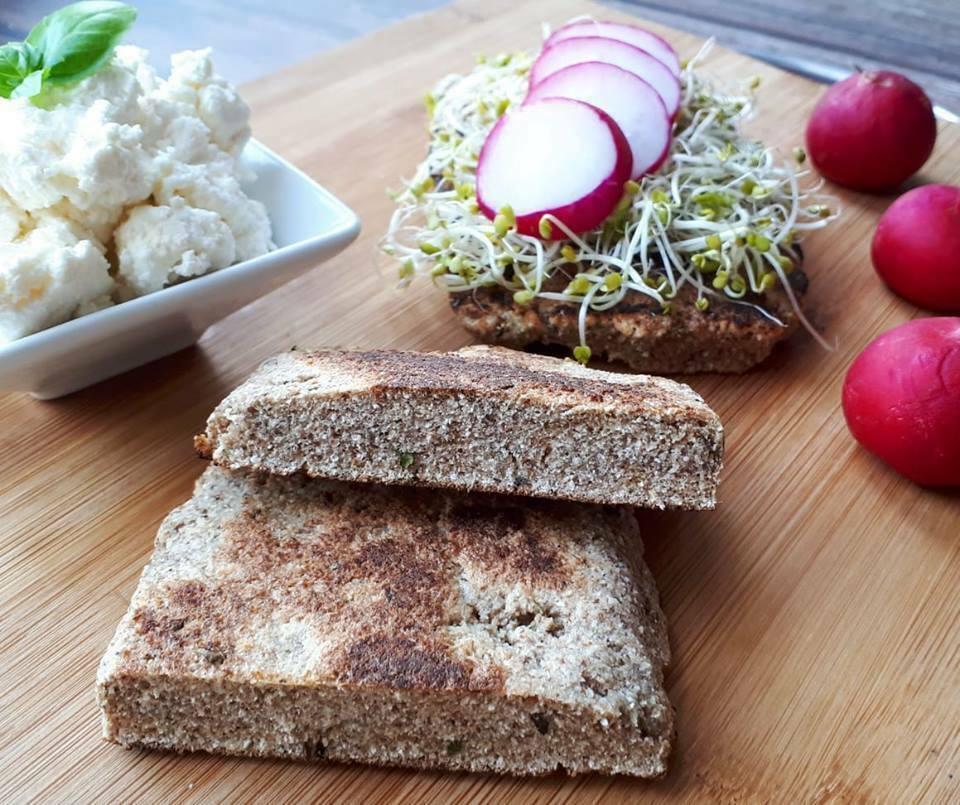 razowy chleb bez pieczenia
